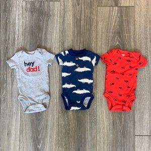 Carters Newborn Onesie Set